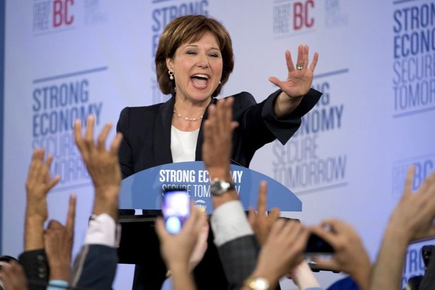 Christy Clark... (Photo La Presse Canadienne)