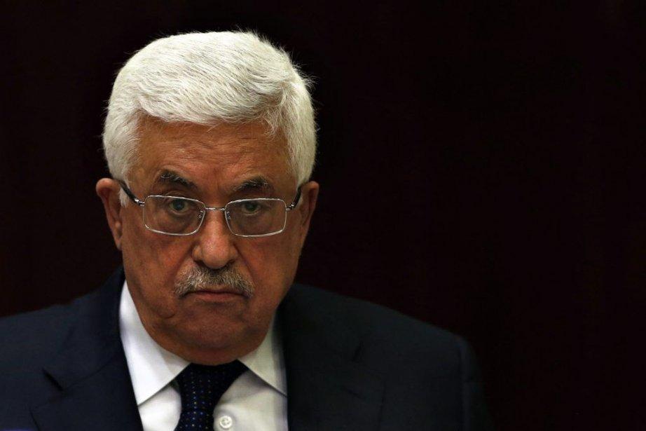 Le président palestinien Mahmoud... (Photo Mohamad Torokman, Reuters)