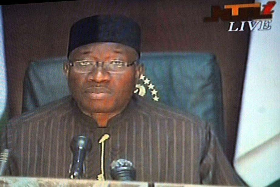 Le président nigérian Goodluck Jonathan avait déclaré mardi... (Photo Agence France-Presse)