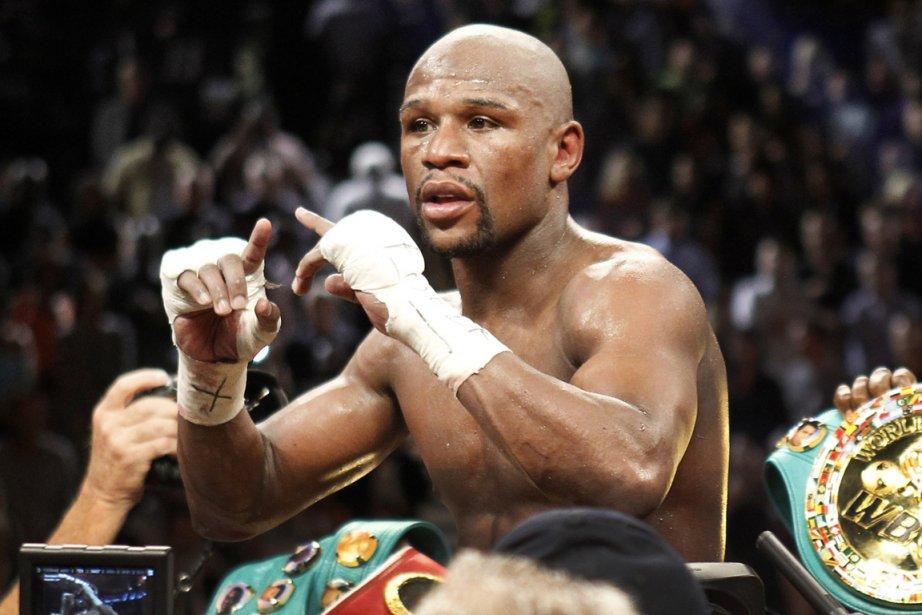 Le boxeur Floyd Mayweather va empocher 90 millions... (Photo Steve Marcus, Reuters)