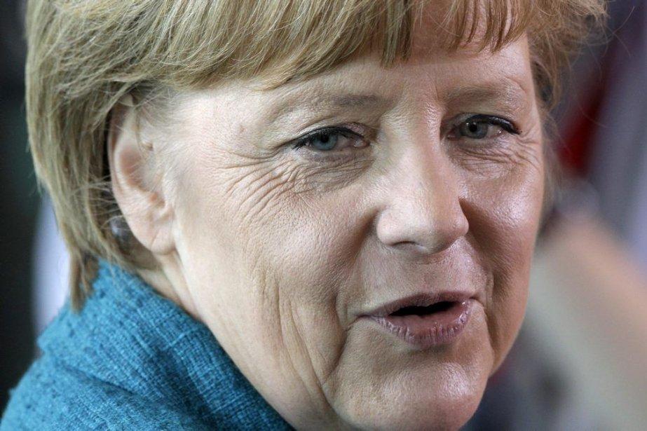 La chancelière allemande Angela Merkel.... (PHOTO MICHAEL SOHN, AP)