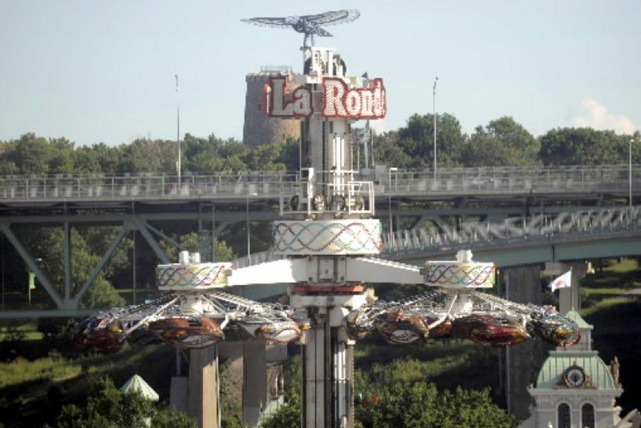 La Ronde... (Photo Bernard Brault, Archives La Presse)