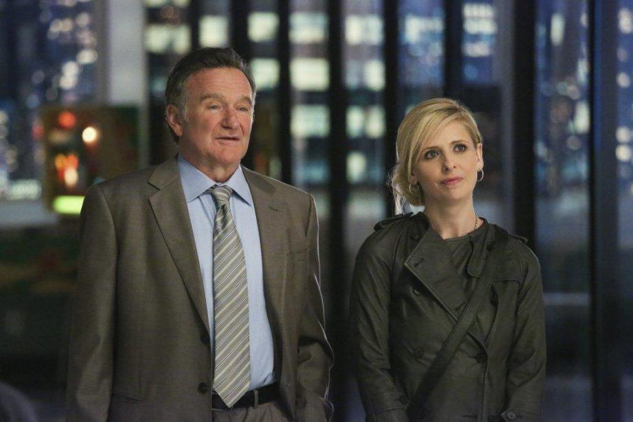 Robin Williams et Sarah Michelle Gellar dans The... (Photo: AP)