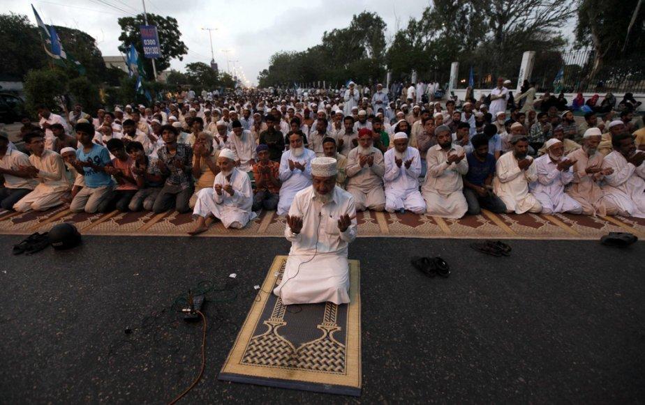 Le Pakistan est une société de plus en... (Photo Akhtar Soomro, Reuters)