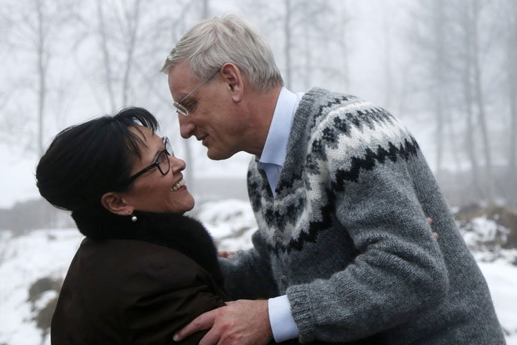 La ministre canadienne Leona Aglukkaq a rencontré le... (Photo: AP)