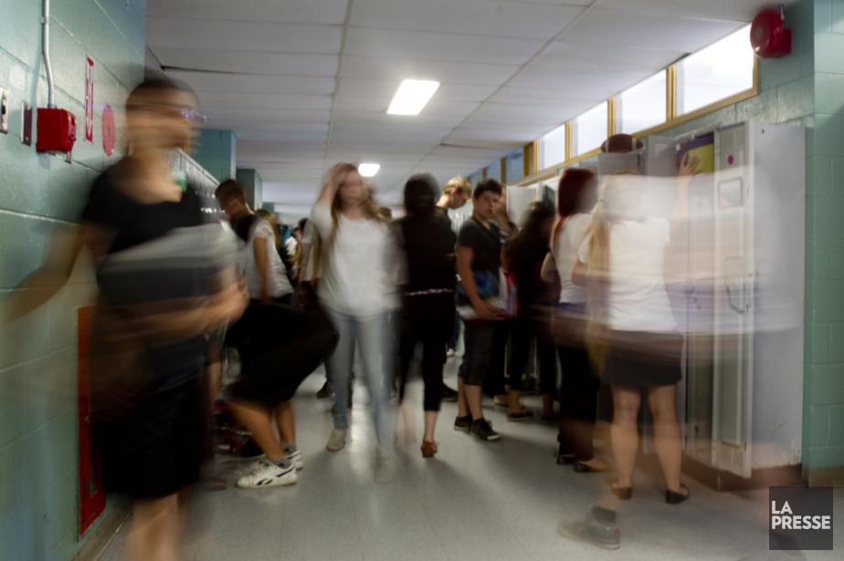 Les écoles intermédiaires pourraient endiguer le flot de... (Photo Olivier Jean, archives La Presse)