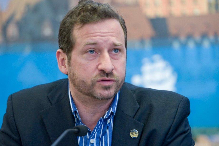 Le ministre de l'Environnement, Yves-Francois Blanchet.... (Photothèque Le Soleil, Steve Deschênes)