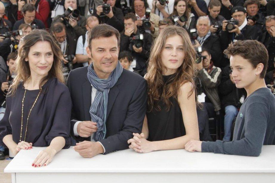 Géraldine Pailhas, le réalisateur François Ozon, Marine Vacth... (Photo: AP)
