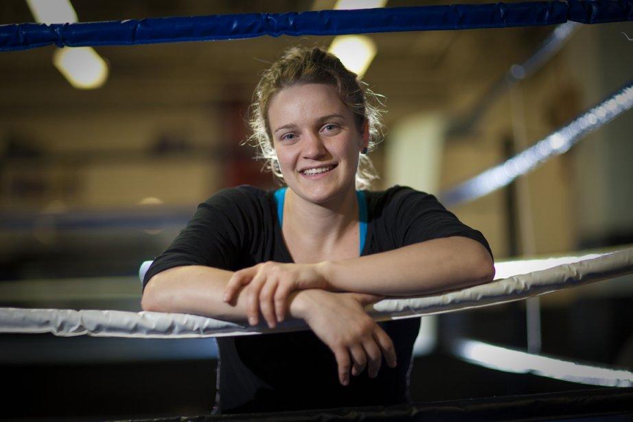 La boxeuse Ariane Fortin va commencer dès cet... (Photo André Pichette, La Presse)