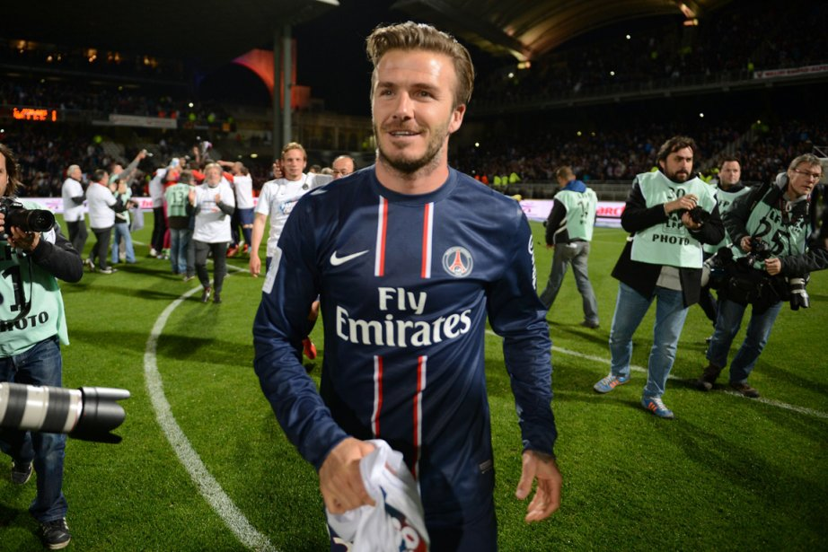David Beckham... (Photo Philippe Desmazes, AFP)
