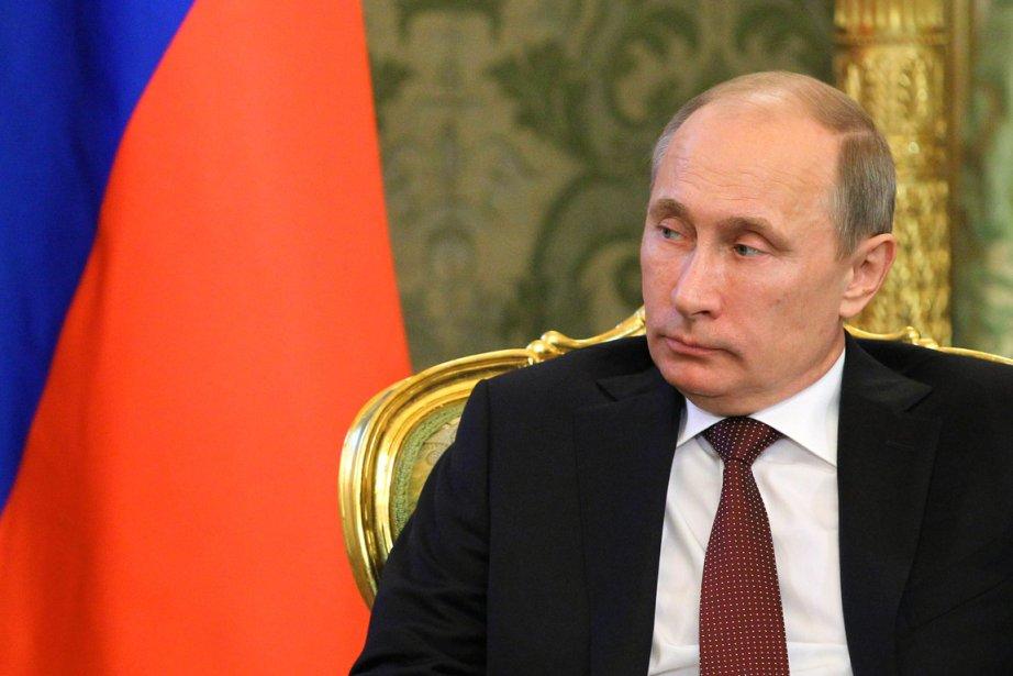 Le président russe Vladimir Poutine se rendra dorénavant... (PHOTO MIKHAIL KLIMENTYEV, AFP)