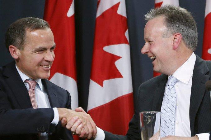 Le patron actuel de la Banque du Canada,...