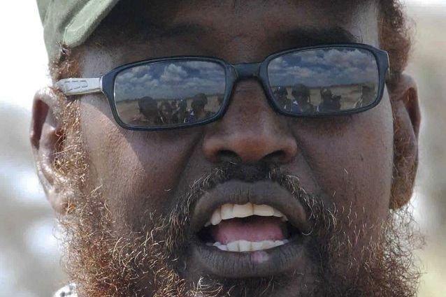 Ahmed Madobe, un ancien seigneur de guerre islamiste... (PHOTO PETER MARTELL, AFP)