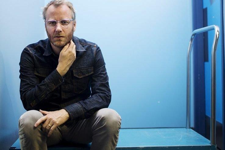 Matt Berninger, chanteur du groupe The National... (Photo: La Presse Canadienne)