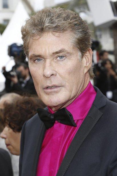 David Hasselhoff sur le tapis rouge de «Jeune et jolie». | 16 mai 2013