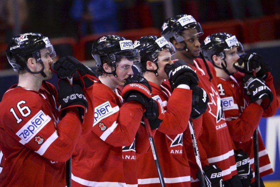 Vive déception dans le camp canadien.... (Photo Jonathan Nackstrand, Agence France-Presse)