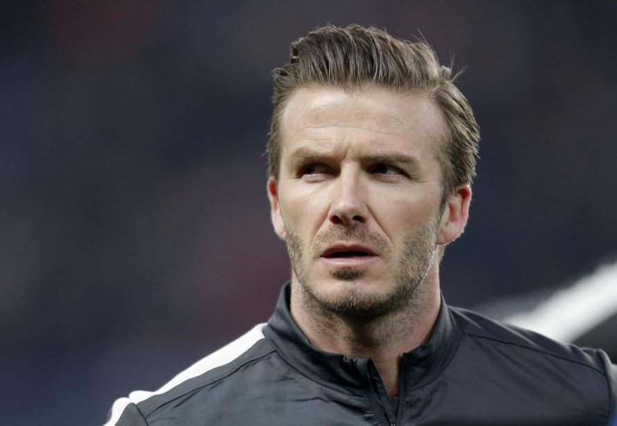 David Beckham... (Photo Christophe Ena, Associated Press)