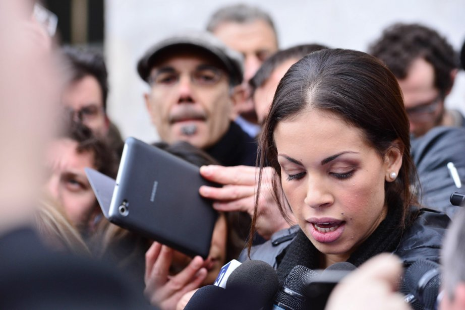 Karima El Mahroug, alias «Ruby», est au coeur... (PHOTO GIUSEPPE CACACE, ARCHIVES AFP)