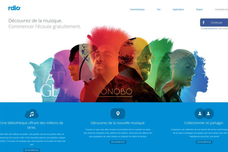 En pleine expansion, le service d'écoute de musique en ligne Rdio s'est associé...