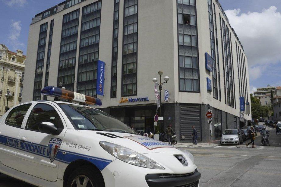 Les bijoux ont été dérobés au Novotel de... (Photo: AFP)