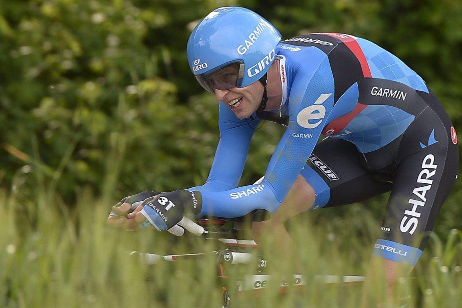 Vainqueur du Tour d'Italie l'an dernier, le Canadien... (Photo Fabio Ferrari, AP)