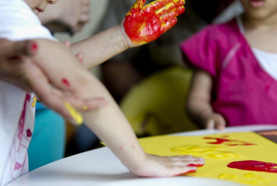Les ateliers ont lieu dans un centre de... (PHOTO MARCO CAMPANOZZI, LA PRESSE)