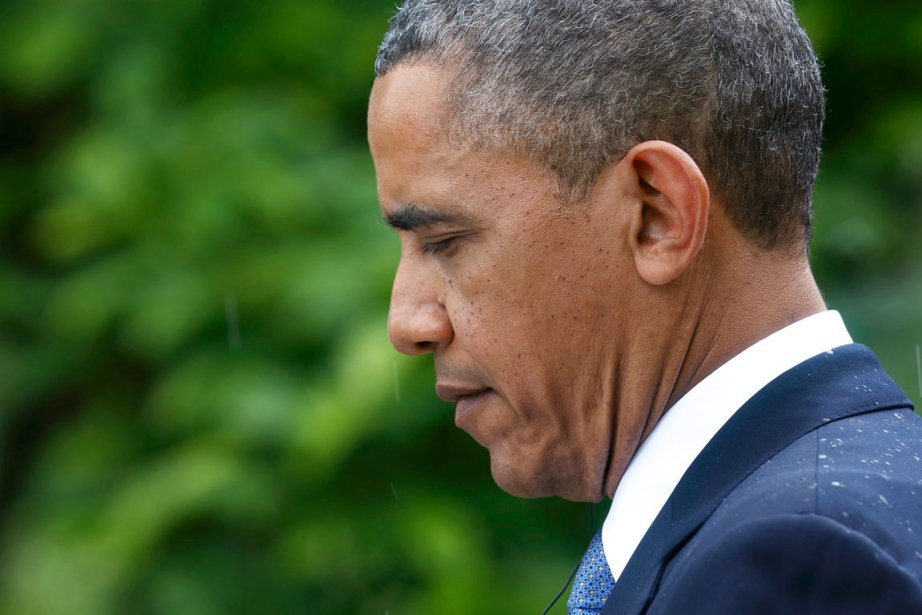 Le président des États-Unis, Barack Obama.... (PHOTO KEVIN LAMARQUE, REUTERS)