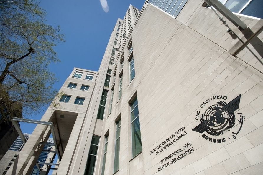 Le siège social de l'OACI à Montréal.... (Photo Graham Hughes, La Presse Canadienne)