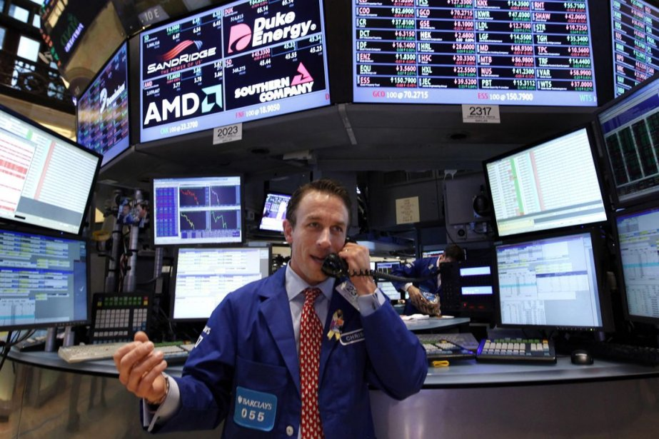 Au cours des cinq dernières séances, le Dow... (Photo Archives AP)