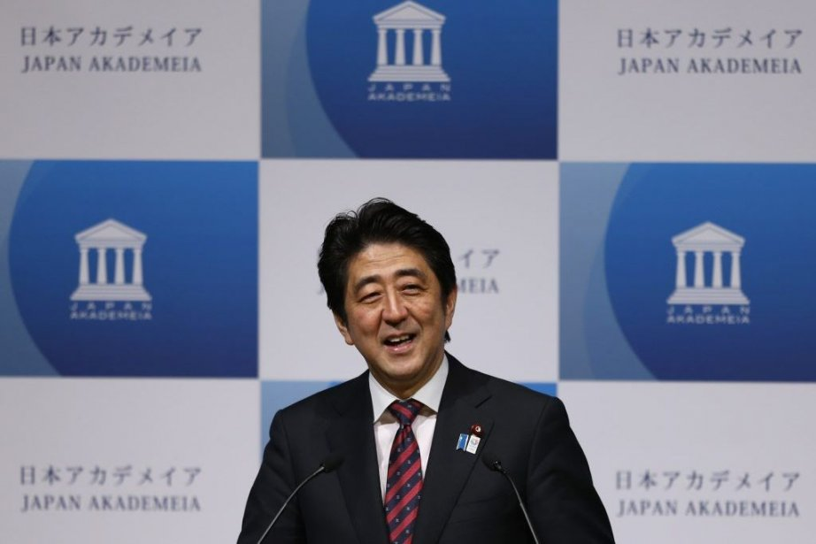 Le premier ministre du Japon, Shinzo Abe, s'est... (Photo ISSEI KATO, REUTERS)
