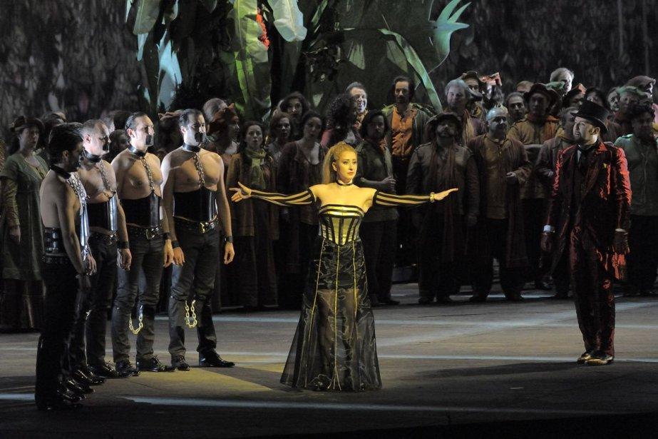 Marianne Fiset chantantManon de Massenet à l'Opéra de... (Photo fournie par la production)