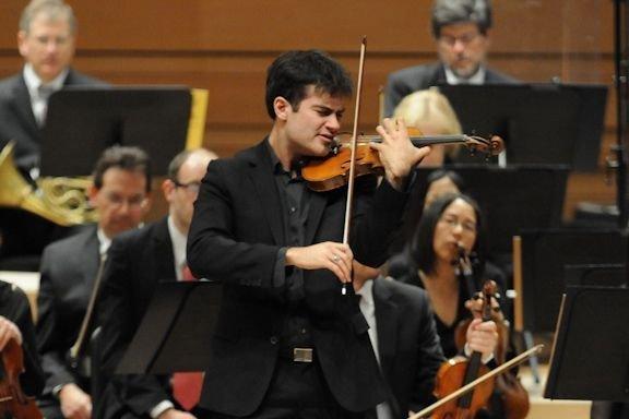 Marc Bouchkov, premier prix du Concours de violon,... (PHOTO FOURNIE PAR MATIN BOUCHER COMMUNICATIONS)