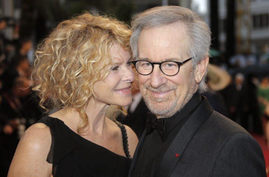 Le réalisateur et producteur américain Steven Spielberg arrive sur le... | 2013-05-18 00:00:00.000