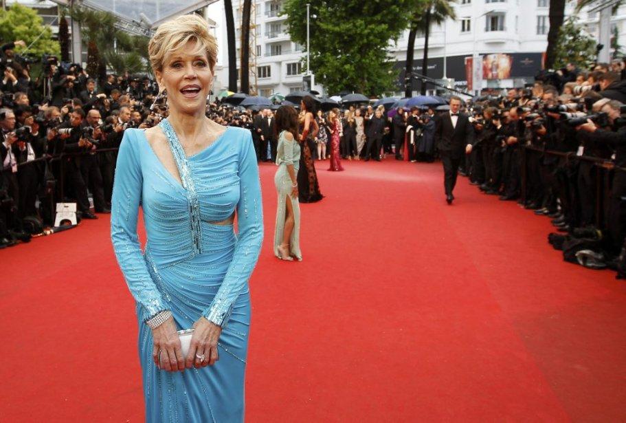 L'actrice Jane Fonda. | 18 mai 2013
