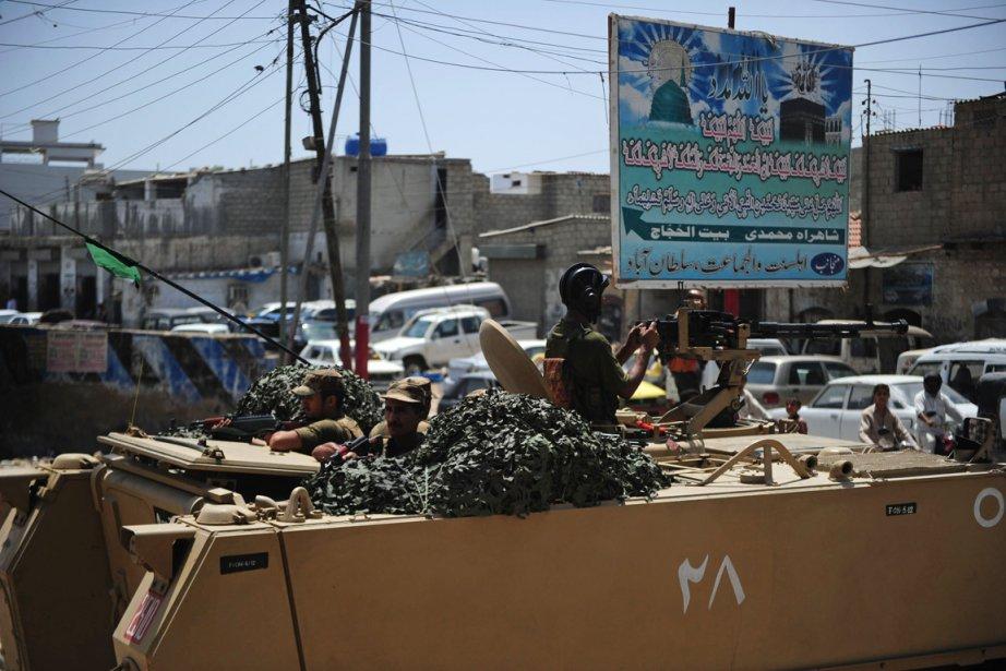 Des soldats pakistanais à Karashi.... (PHOTO ASIF HASSAN, AFP)