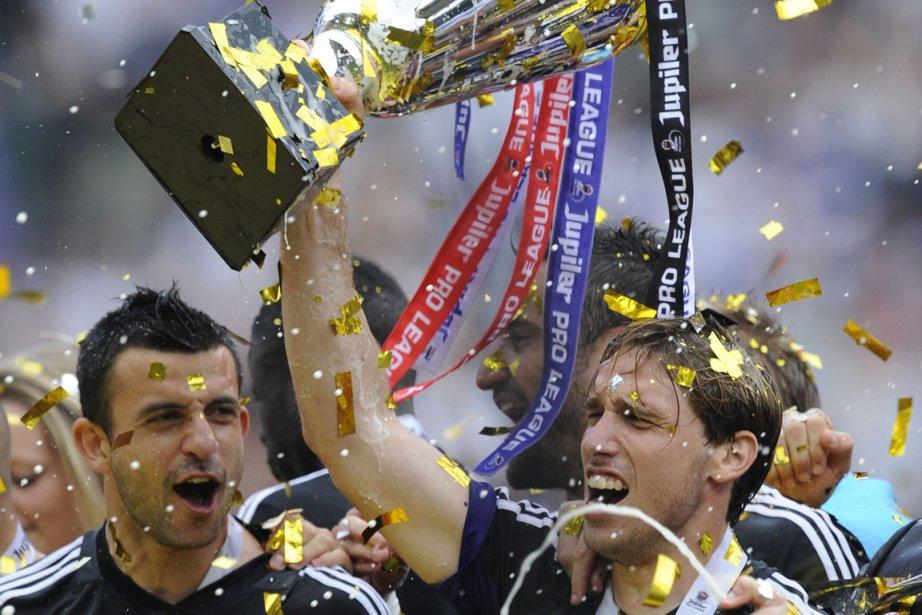 Il s'agit d'un 32e sacre pour le Sporting... (Photo : John Thys, AFP)