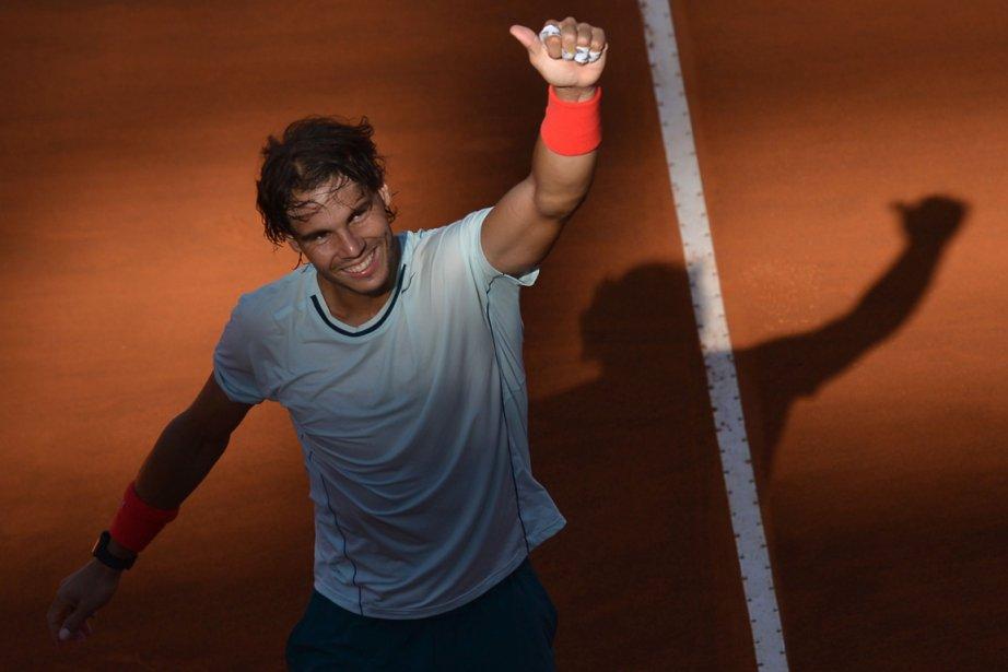Rafael Nadal a remporté son sixième tournoi de... (Photo : Gabriel Bouys, AFP)