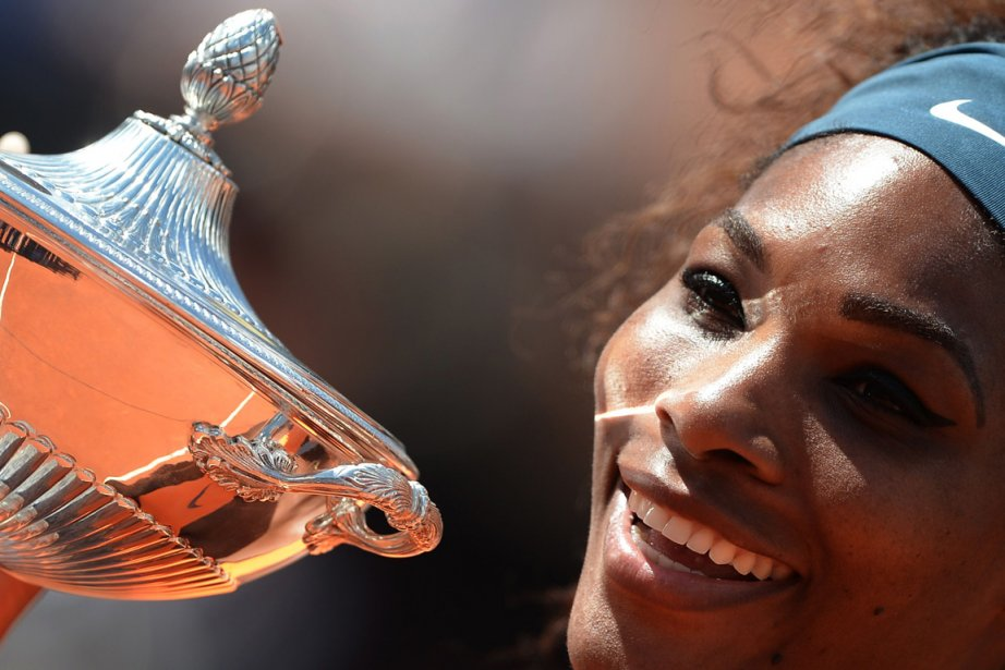 Serena Williams s'est distancé de Maria Sharapova.... (Photo : Filippo Monteforte, AFP)
