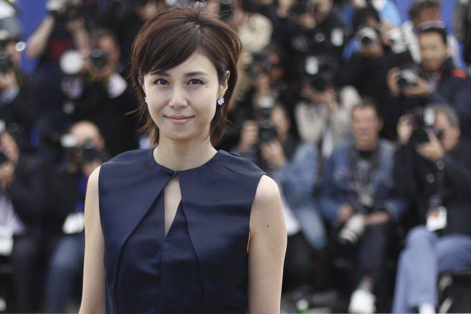L'actrice japonaise Nanako Matsushima à Cannes pour la... (Photo AFP)