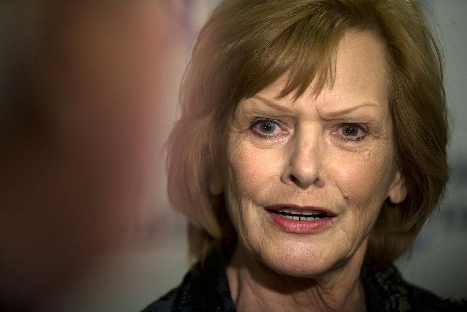 L'ex-députée péquiste Lisette Lapointe, lors du congrès d'Option... (Photo: Robert Skinner, archives La Presse)