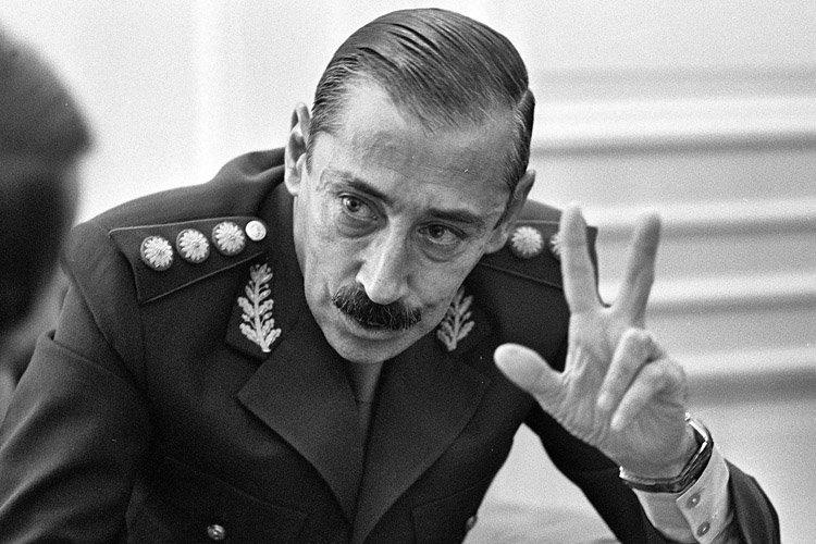 La plupart des Argentins exècrent Jorge Videla (qu'on... (Photo: AP)