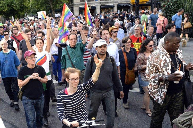 Une trentaine d'organisations avaient appelé à la manifestation,... (Photo: AFP)