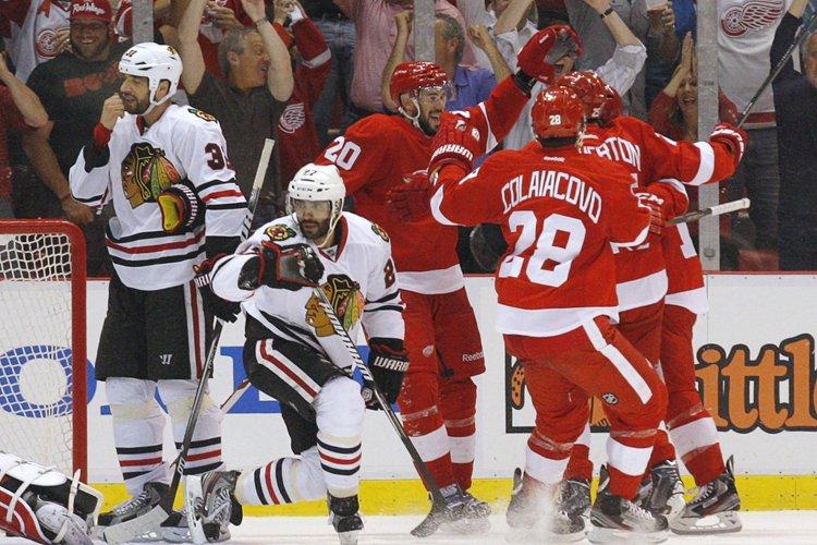 Les Red Wings de Detroit ont pris une... (Photo: Reuters)