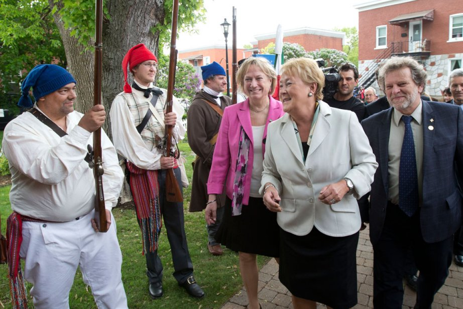 La première ministre Pauline Marois a été reçue... (PHOTO ROBERT SKINNER, LA PRESSE)