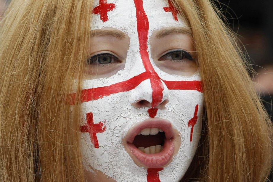 Les Géorgiens ont vu leur nombre diminué de... (PHOTO SHAKH AIVAZOV, ARCHIVES AP)