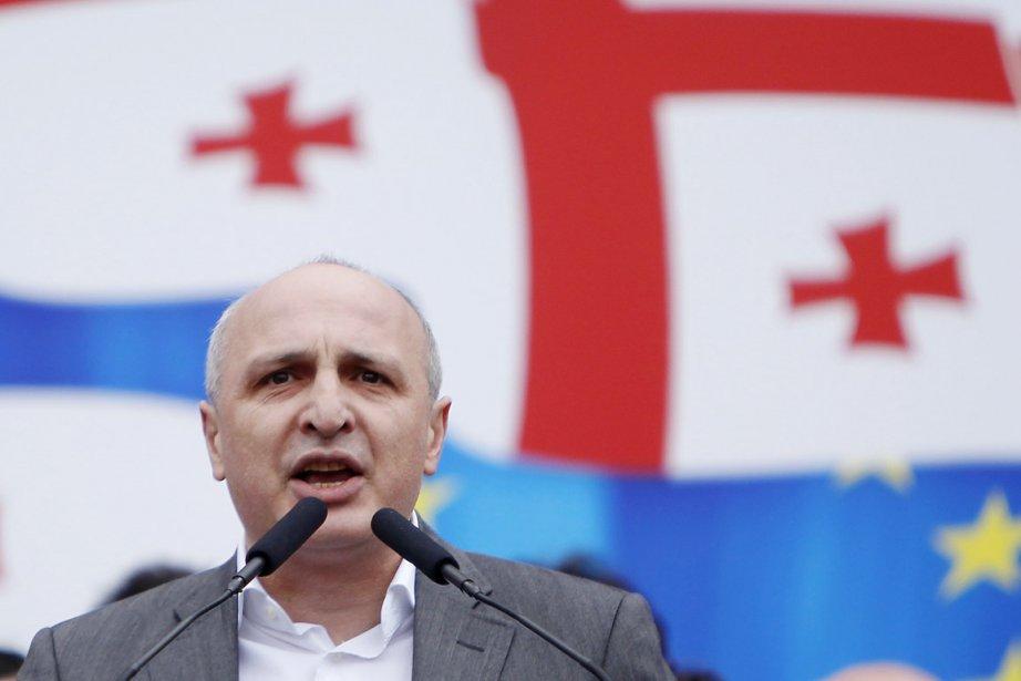 Vano Merabichvili (ci-dessus), qui est le secrétaire général... (PHOTO DAVID MDZINARISHVILI, ARCHIVES REUTERS)