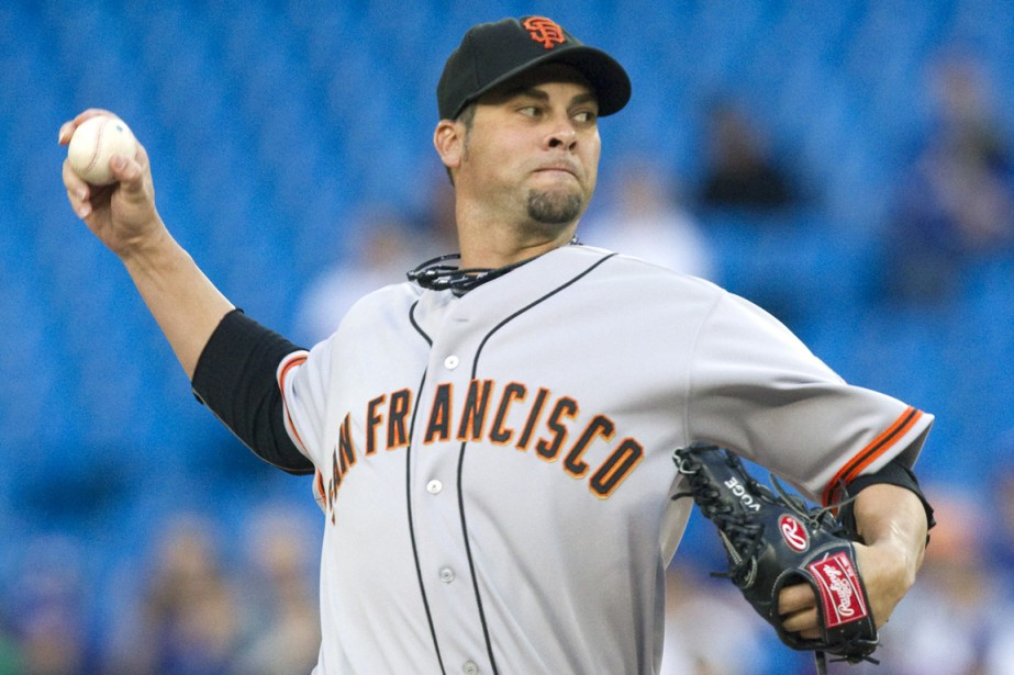 Ryan Vogelsong... (Photo Fred Thornhill, archives Reuters)