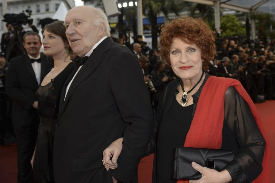 Michel Piccoli et Andréa Ferréol... (Photo: AFP)