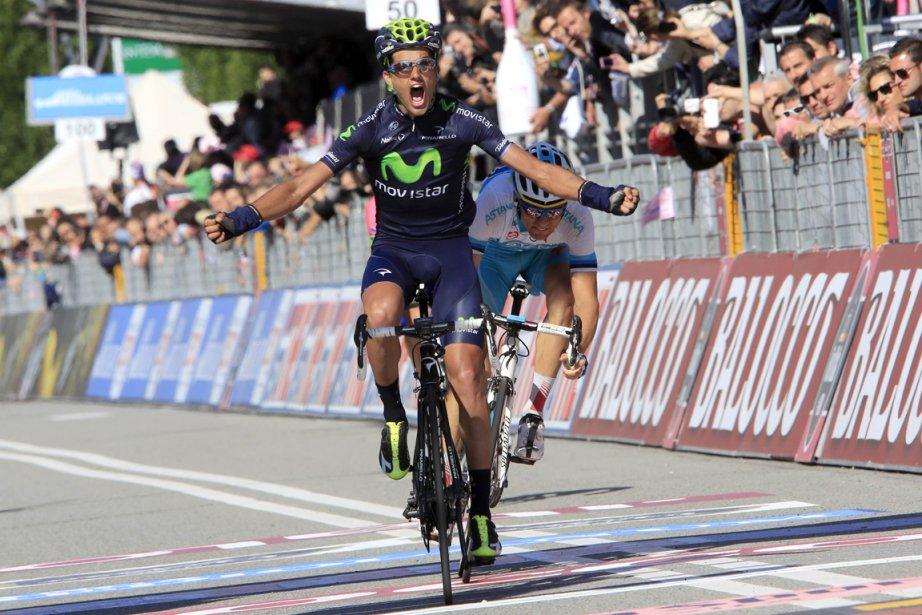 L'Espagnol Benat Intxausti a devancé au sprint ses... (Photo Luk Benies, AFP)