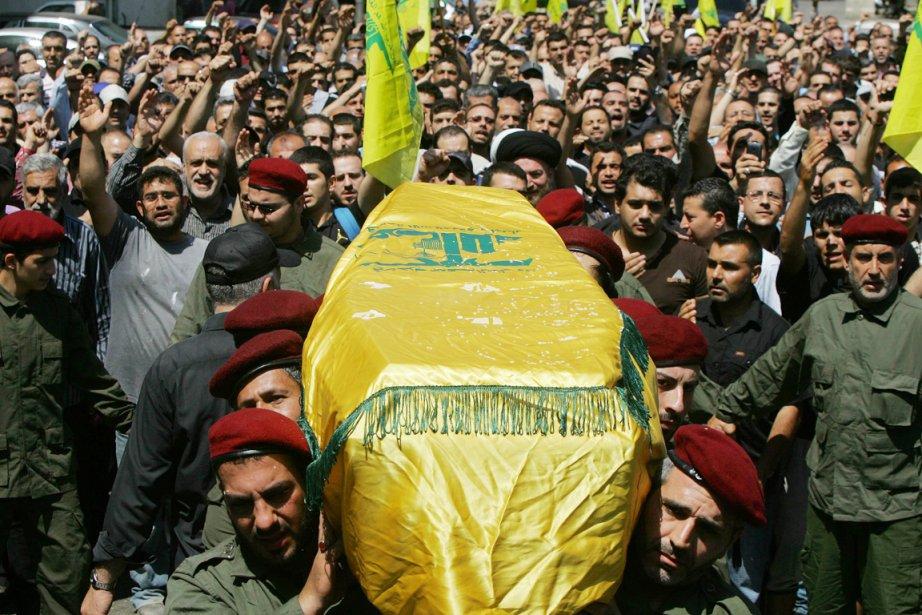 La télévision du Hezbollah a diffusé des images... (PHOTO AFP/STR)